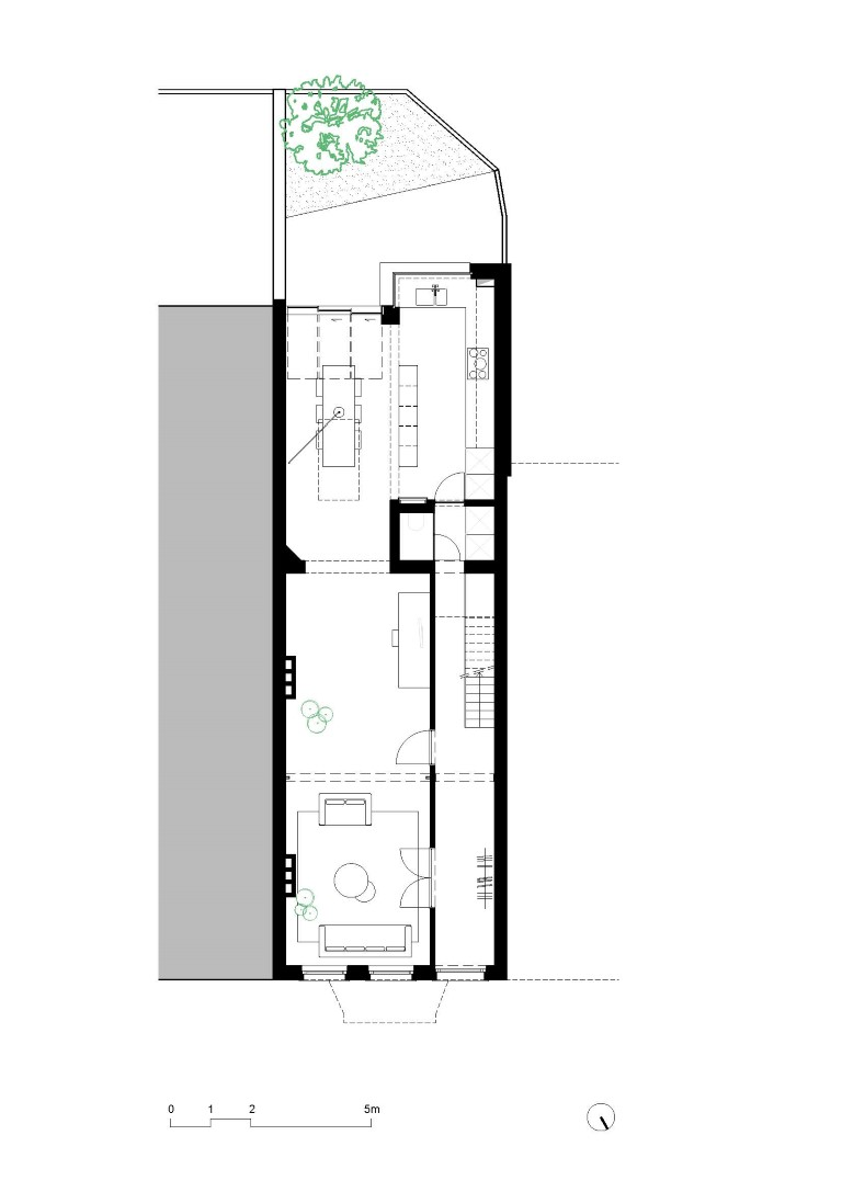 faktordertig - architectuur - renovatie - interieur -plan