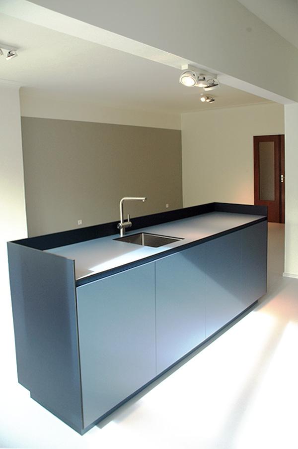 faktordertig - architectuur - interieur - totaalrenovatie - appartement - jaren '60 - Antwerpen - Amerikalei - interieurarchitectuur - kleuren - hout - licht - ruimtelijkheid