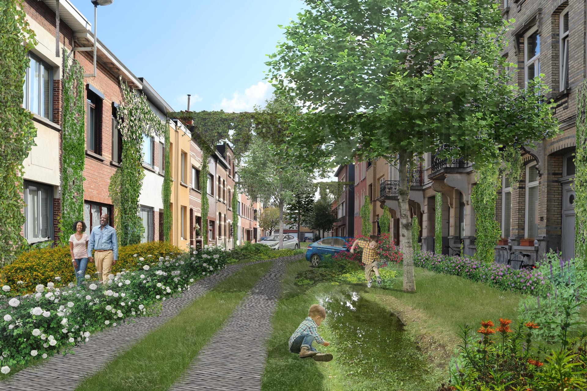 faktordertig - ecologisch bouwen - straat - stad - Antwerpen - onderzoek - paper